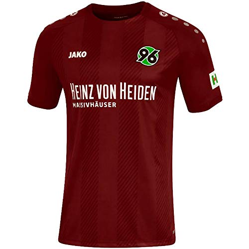 JAKO Herren Fußballtrikot Hannover 96 Home Kurzarm Bordeaux (502) XL