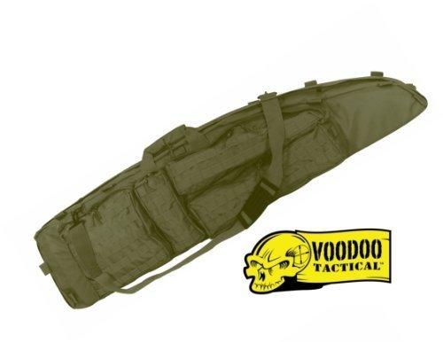 """Voodoo Tactical The Ultimate Drag Bag 51"""" Olive Drap Sniper Waffentasche Jagdtasche SEK (Olive, 51 Zoll)"""