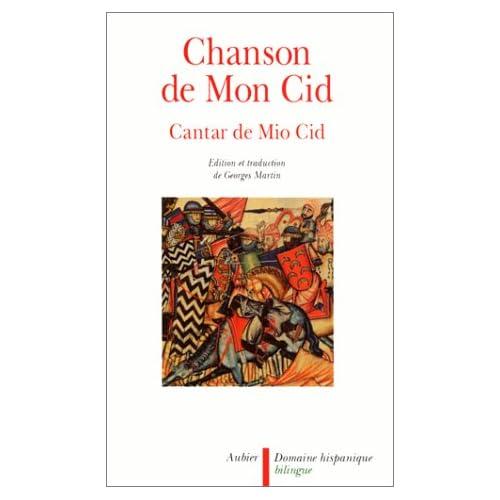 Chanson de mon Cid (cantar de mio cid)