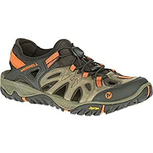 41SGTiJKVbL. SS300  - Merrell Men's All Out Blaze Sieve Low Rise Hiking Shoes