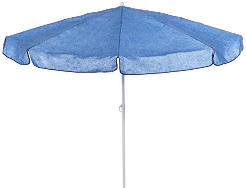 beo MM06 Sonnenschirm 180cm - Sombrilla para patio, color azul