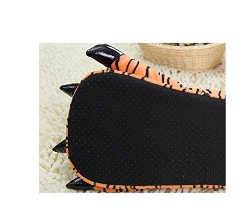 Cartoon Tierpfoten warme Schuhe zu Hause Schuhe neutral weiche Pfoten Plüschpantoffel Schuhe Tigger