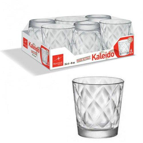 Bormioli Kaleido Confezione Bicchieri, 6 unità