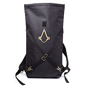 Assassin's Creed Syndicate Rucksack Folded, schwar