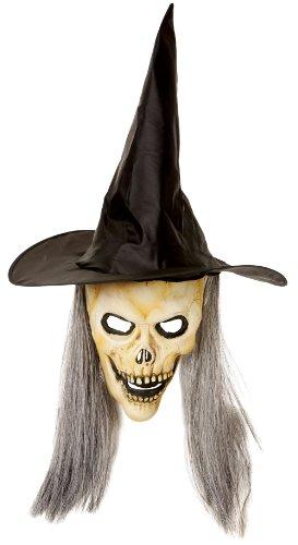 enhut mit Maske und Haar ()
