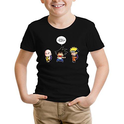 T-Shirts Naruto - Dragon Ball parodique Sangoku Naruto : Tortue Ninja !? (Parodie Naruto - Dragon Ball)