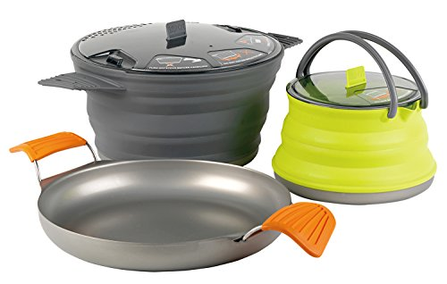 Sea to Summit XSET 32 3pc xpot 2.8L Xpan 8 inch xkettle 1.3L, Farbe Multicolour