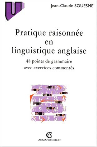 PRATIQUE RAISONNEE EN LINGUISTIQUE ANGLAISE. 48 points de grammaire avec exercices commentés