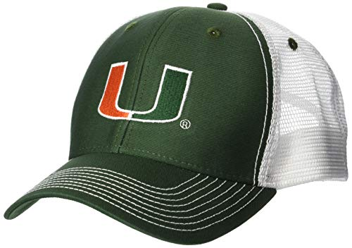 Ouray Sportswear NCAA Erwachsene Cap Sideline, Sideline Cap, Dark Hunter/White, Einstellbar -