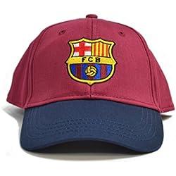 FCB FC Barcelona–Gorra de béisbol Contrast Color Granate