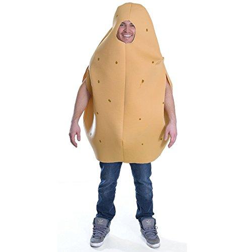 stüm Junggesellenabschied Spaß Frischer Nahrung & Drink Kostüm - Kartoffel ()