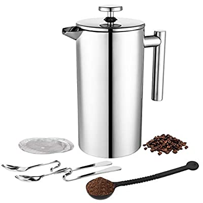 TOPELEK Cafetiere French Press
