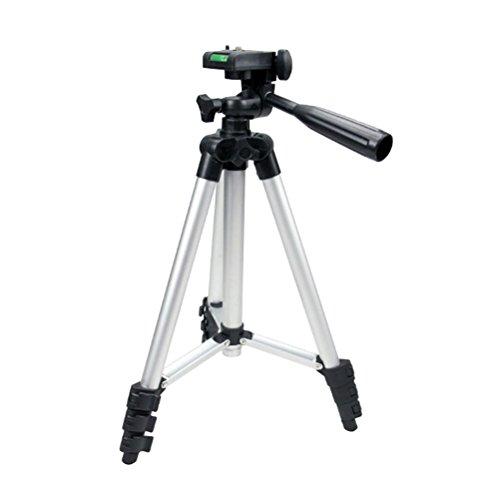 LEDMOMO Trépied d'appareil photo Ajustable 360 degrés Trépied Caméra Télescopique Canon IXUS / LCD moniteur / caméscope