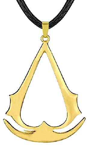 Lovelegis Herrenhalskette - Das Glaubensbekenntnis des Mörders - Kino - Assassin's - Seil - Goldene Farbe