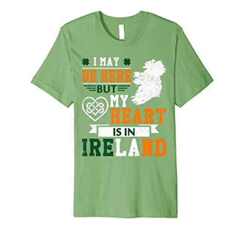 Ich kann hier aber mein Herz ist, in Irland T-Shirt -