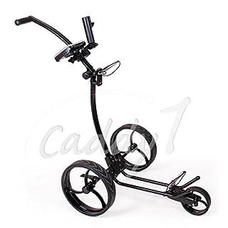 Design Golf Trolley CADDYONE 110 in Schwarz