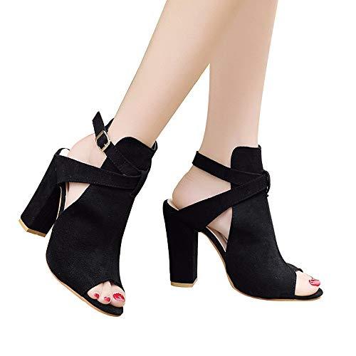 Sandalias de Vestir Plataforma tacón Alto de Playa para Mujer,Casual Zapatos de Baño Verano Peep Toe Sandalias Mujer Cuña Sandalias de Vestir Plataforma tacón Alto de Playa para Mujer