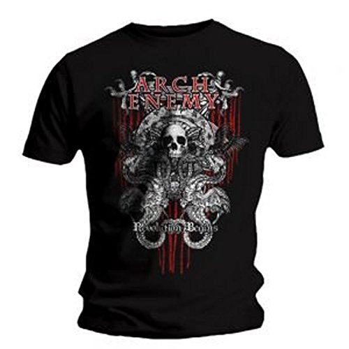 Arch Enemy - Twin Skulls T-Shirt