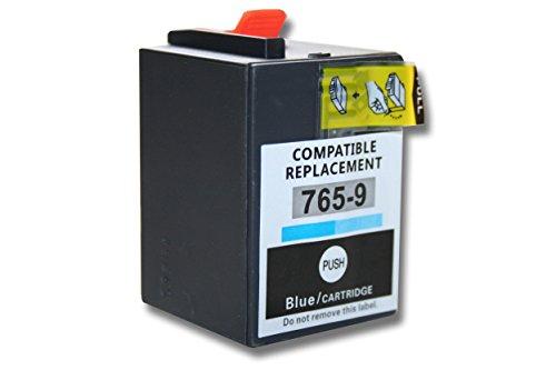 vhbw Druckerpatronen Tintenpatronen blau mit Chip für Pitney Bowes Frankiermaschinen DM300 DM300C DM400 DM400C DM450 DM450C DM475 DM475C wie 765-9blau