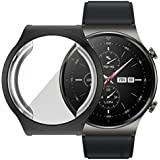 Dado Protective Case For Huawei GT2 PRO Smart Watch Cover TPU Full cover Case protector (Black)