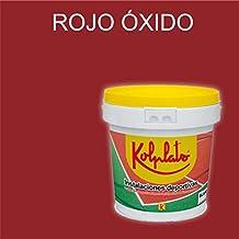 Pintura para suelos e instalaciones deportivas Kolplast (4 litros, Rojo Óxido)