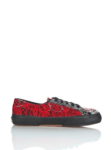 Chaussures Le Superga - 2750-fantasyw 3 RED-GREY-BEIGE