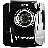 Transcend DrivePro 220 Caméra Dashcam / Enregistreur video pour Voiture WIFI + GPS - Support ventouse  TS16GDP220M