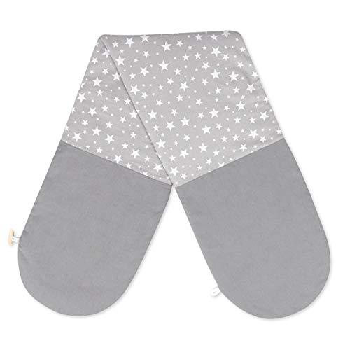 Amilian - Funda para cojín de lactancia, almohada para dormir de lado, tamaño 160 cm, en diferentes...