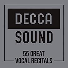 Decca Sound: 55 Great Vocal Recitals