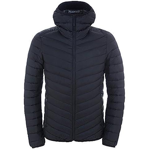 North Face M Jiyu Full Zip Hoodie - Chaqueta con cremallera y capucha para hombre, color negro, talla