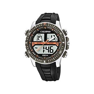 Calypso Watches Reloj Analógico-Digital para Hombre de Cuarzo con Correa en Plástico K5773/1