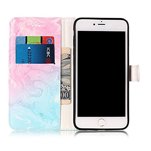 Yaking® Apple iPhone 7 Plus PU Portefeuille Étui Coque Stand Flip Housse Couvrir impression Case Cover P-8