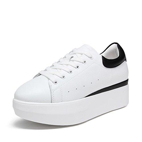 Chaussures de sport féminin/ blanc épais shoe/Hauteur croissantes chaussures/Chaussures de sport A