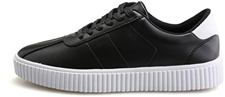 Fallen von koreanischen Mode Herrenschuhe comfort klobigen Plateauschuhen/Trend Sport Schuhe/Student weiße Schuhe