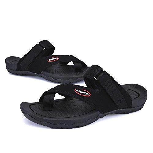 Sommer Herren Hausschuhe/Toe Flip Flops/Tragen Hausschuhe Atmungsaktiv Mode A