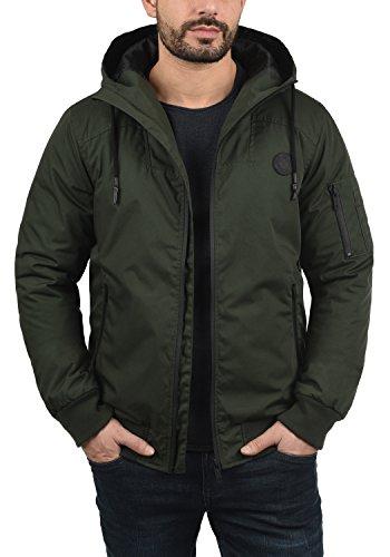 SOLID Tilly Sporty Herren Übergangsjacke Jacke mit Kapuze aus winddichter und hochwertiger Materialqualität Climb Ivy (3785)