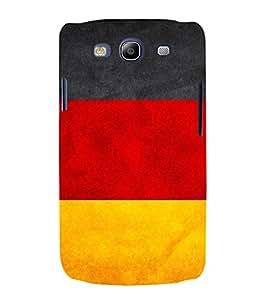 PrintVisa Germany Flag Pattern 3D Hard Polycarbonate Designer Back Case Cover for Samsung Galaxy S3