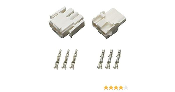 11 St/ück Connect 37513 Mate-N-Lok Stecker-Set 3-polig