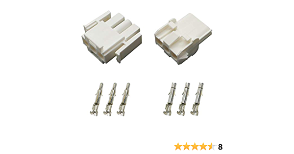 Stecker Set Steckverbinder Universal Mate N Lok 3 Polig Incl Kontakten Auto