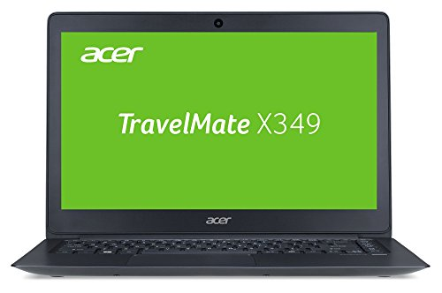 Acer TravelMate X349 (X349-G2-M-53U2) 35,56 cm (14 Zoll matt, Full-HD IPS) Notebook (Intel Core i5-7200U, 8 GB DDR4 RAM, 256 GB SSD, Intel HD Graphics 620, Win 10 Pro) aluminium/grau