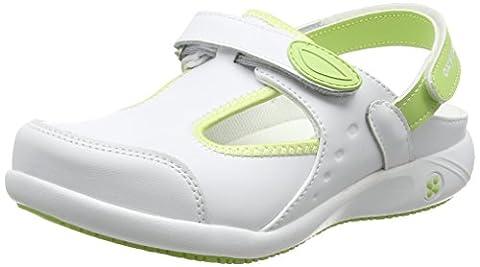 Oxypas Move Carin Slip-resistant, Antistatic Nursing Shoes, White (Lgn) , 5 UK (EU: 38)