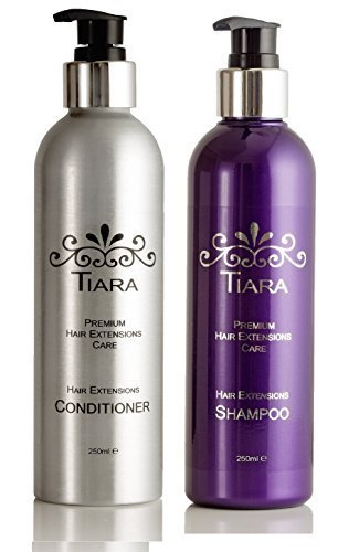 TIARA EXTENSION CARE SET (SHAMPOO + CONDITIONER)