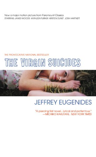 Book cover for The Virgin Suicides
