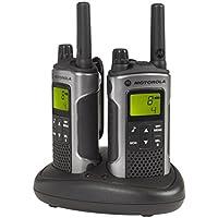 Motorola TLKR T80 PMR-Funkgerät (Reichweite bis zu 10 km)