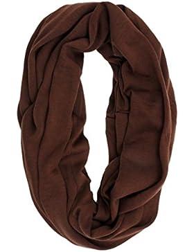 Sumolux Bufanda de Algodón para Mujer Hombre Color Puro Ligero Suave