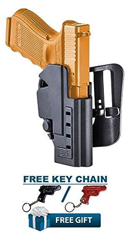 SHGL1 CAA Gearup Polymer Multi Retention Holster for Glock 17