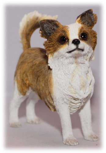 Langhaariger Chihuahua Hunde-Figur