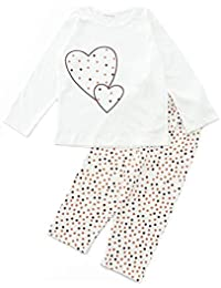 FUNKRAFTS Girls Full Sleeves Multicolor Dots Print Night Suit