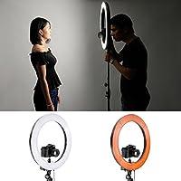 Remarque : appareil photo n'est pas inclus !    Description    (1) flash en anneau fluorescent    Il est largement appliqué à la lumière de photo extérieur, remplissage de lumière à l'intérieur, portrait, mode, mariage, photographie de publicité, ...