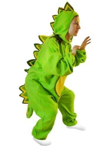 Drachen-Kostüm, F01 Gr. M-L, Drache-Kostüme für Männer Frauen, Drachen Dino-Kostüme Faschingskostüm, Fasching Karneval Fasnacht, Dino Faschings-Kostüme, Karnevals-Kostüme Geschenk (Erwachsene Drachen Kostüme)
